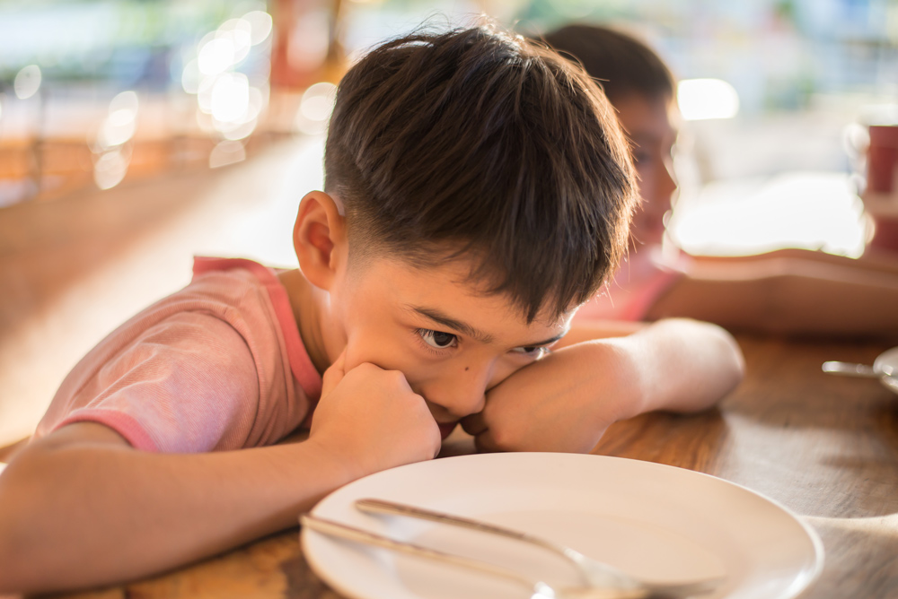Food instability can have negative impacts on children's health.