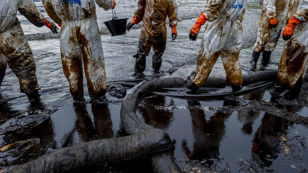 The Deepwater Horizon oil spill of 2010 caused the deaths of 11 workers and left 4 million barrels of oil afloat in the Gulf of Mexico.