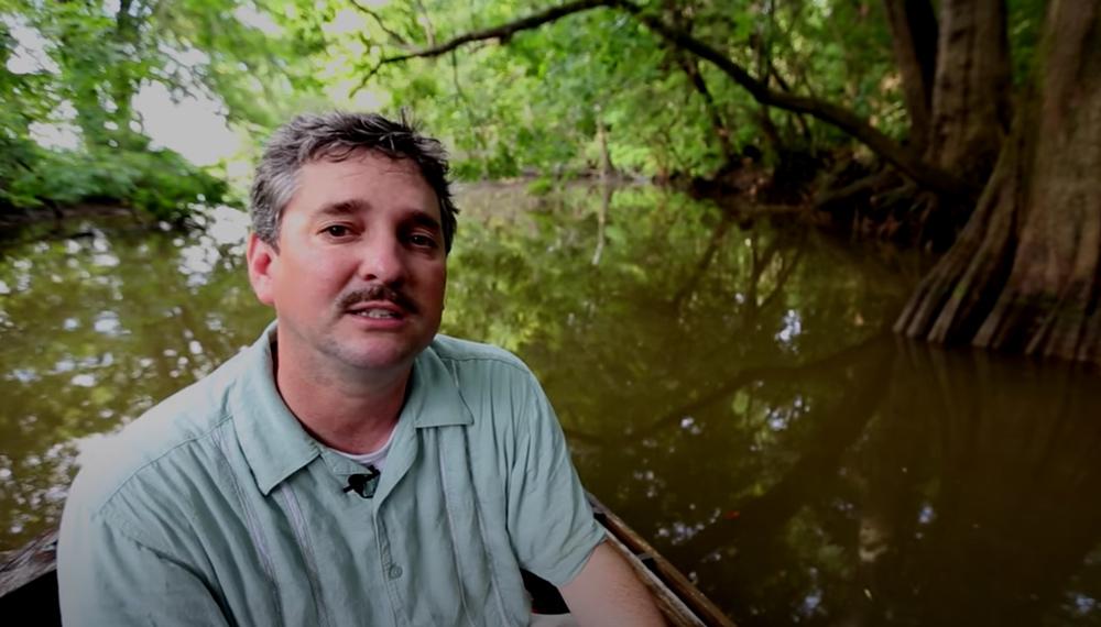 Investigative journalist Ben Raines has been studying the underwater forest.