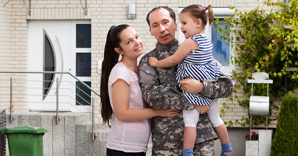 The VA home loan guarantee program helps veterans navigate the home buying process.