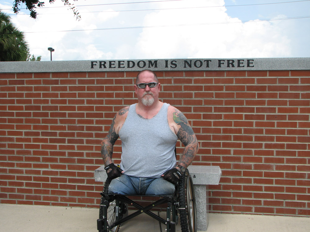 Many Vietnam veterans live with disabilities.