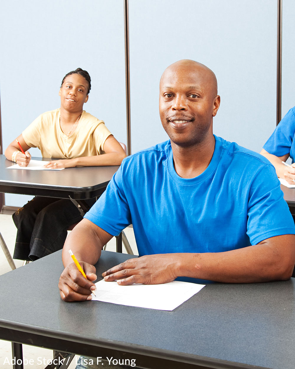 Demand more funding for programs that help adults overcome illiteracy!