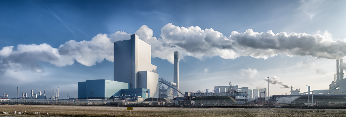 Power plants cannot produce electricity as efficiently in high temperatures.