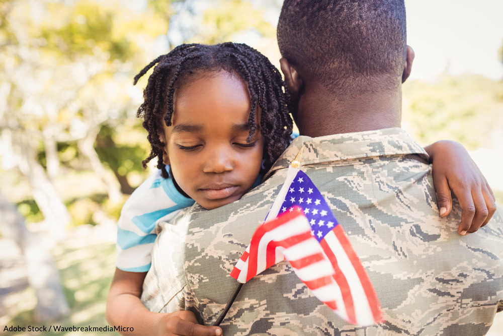 A recent survey of military households found that 90,000 people serving in the United States military were worried about having enough food to feed themselves and their families.