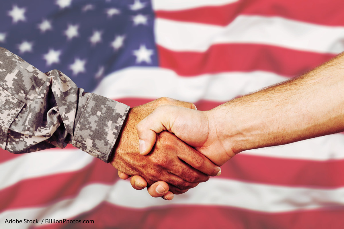 The Veterans Benefits, Health Care, and Information Technology Act of 2006 is supposed to help veterans overcome barriers to entrepreneurship.