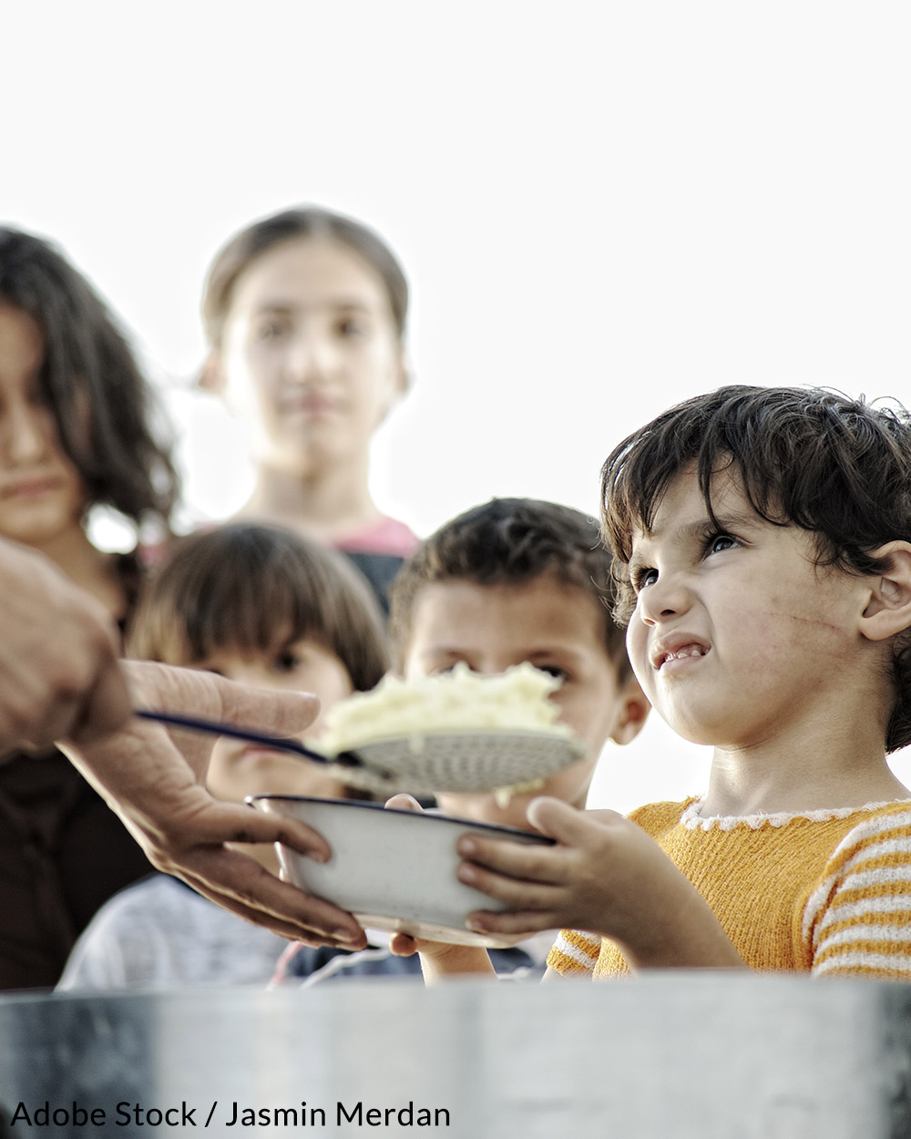 The U.N. is hoping to eliminate hunger by 2050.