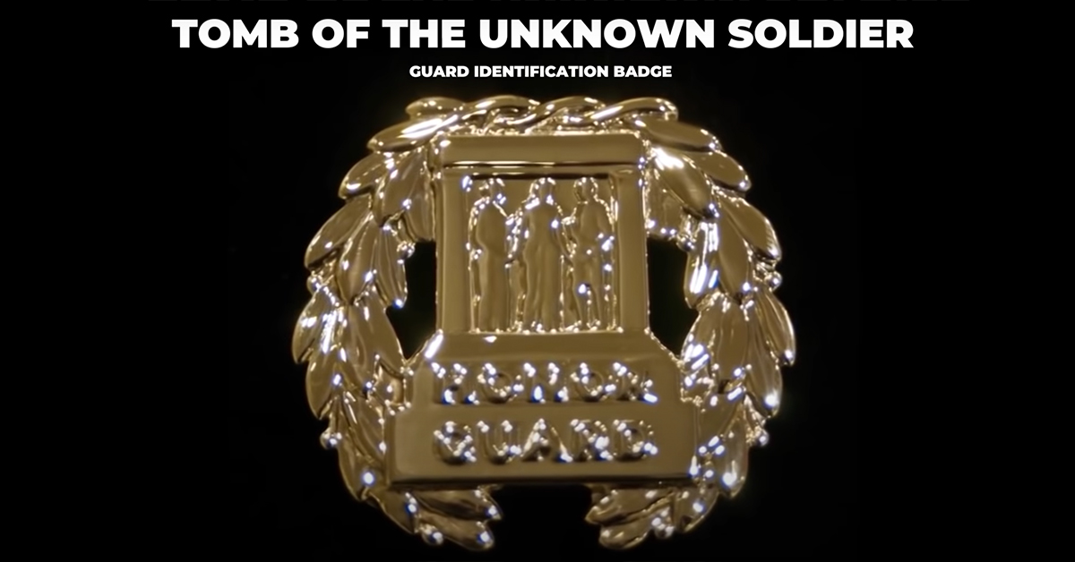 The Badge of a Tomb Guard.