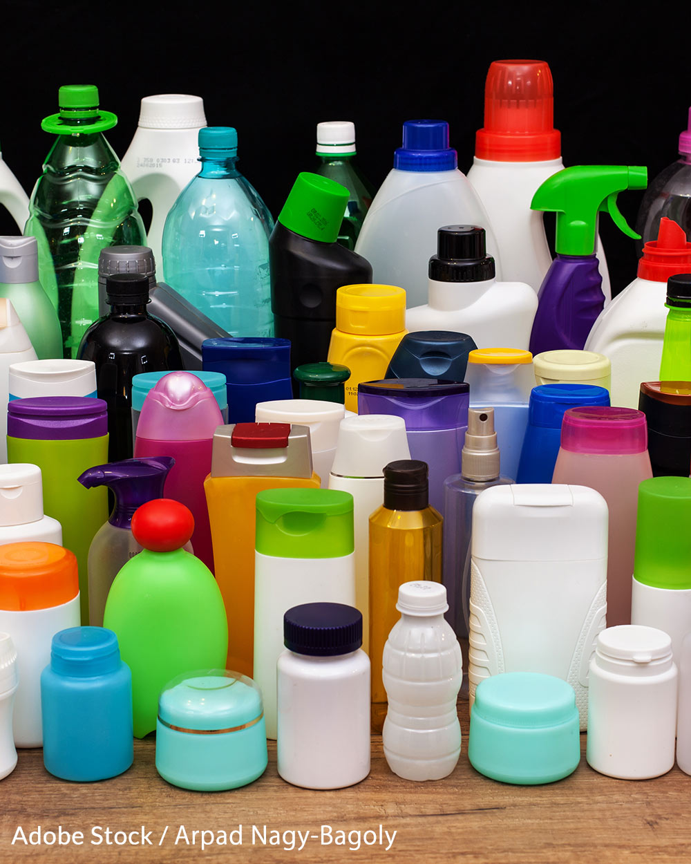 BPA is found in many plastics, and has been linked to serious health issues.