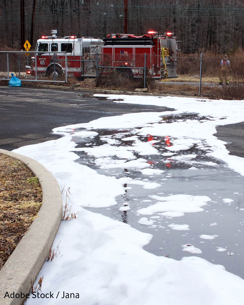 PFAS is found in aqueous fire fighting foam (AFFF) and other products.