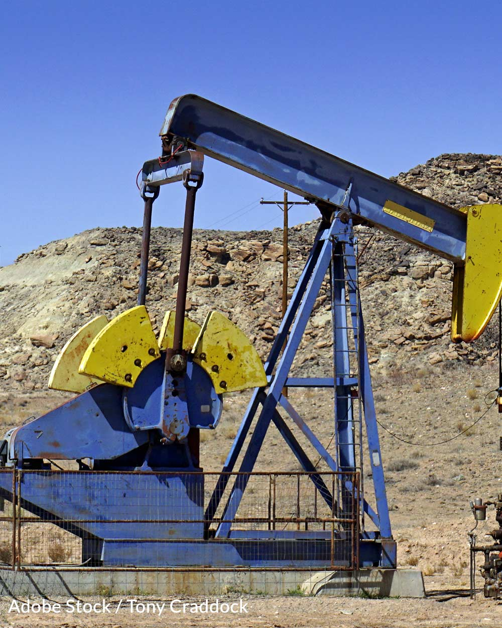 Many existing oil leases are not being used.