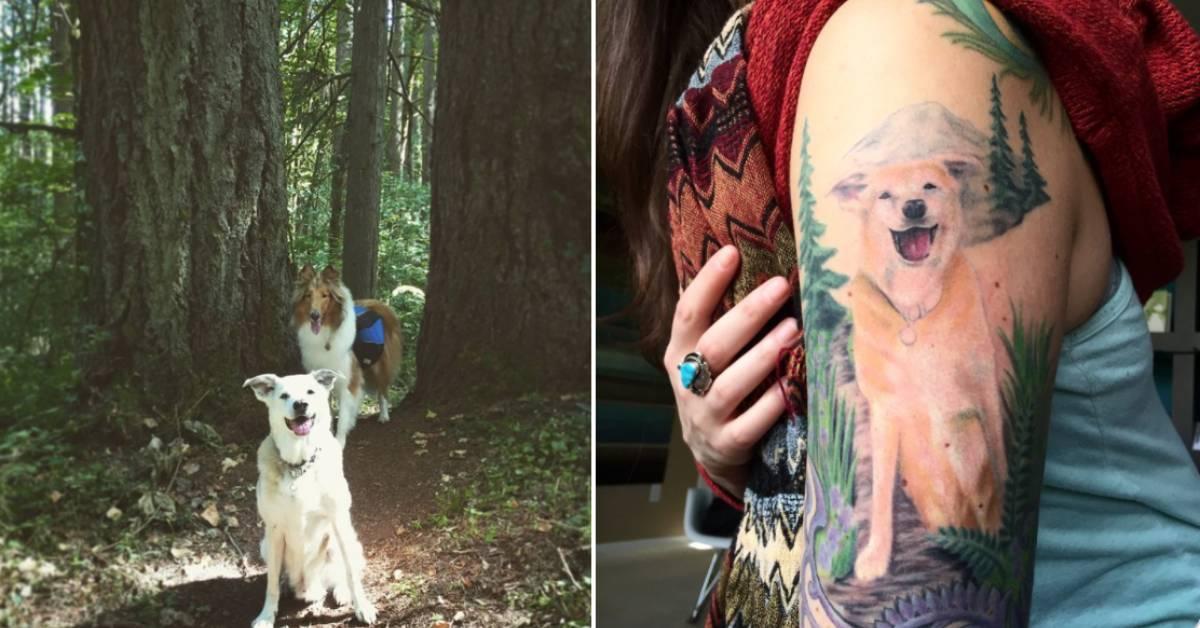 15 Amazing Dog Memorial Tattoos