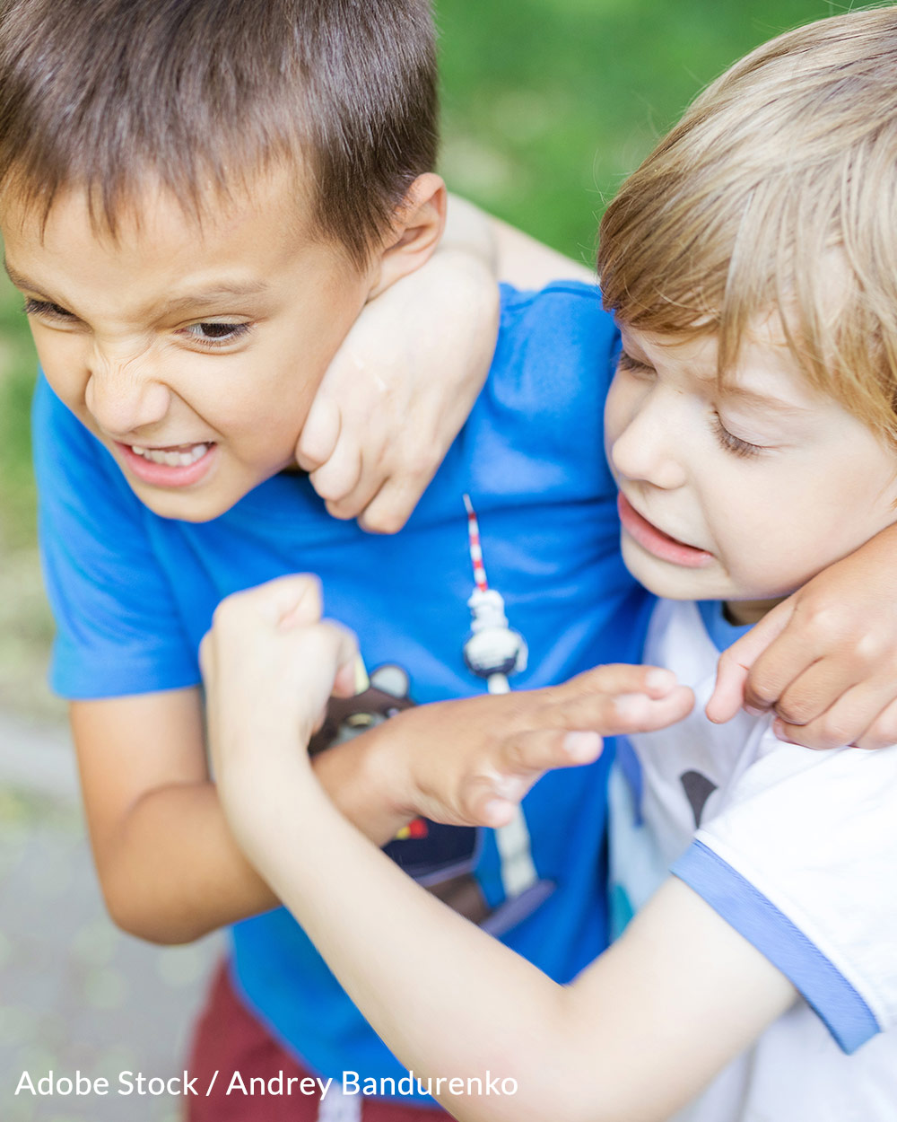 Children need to see conflict resolution modeled in a healthy way.