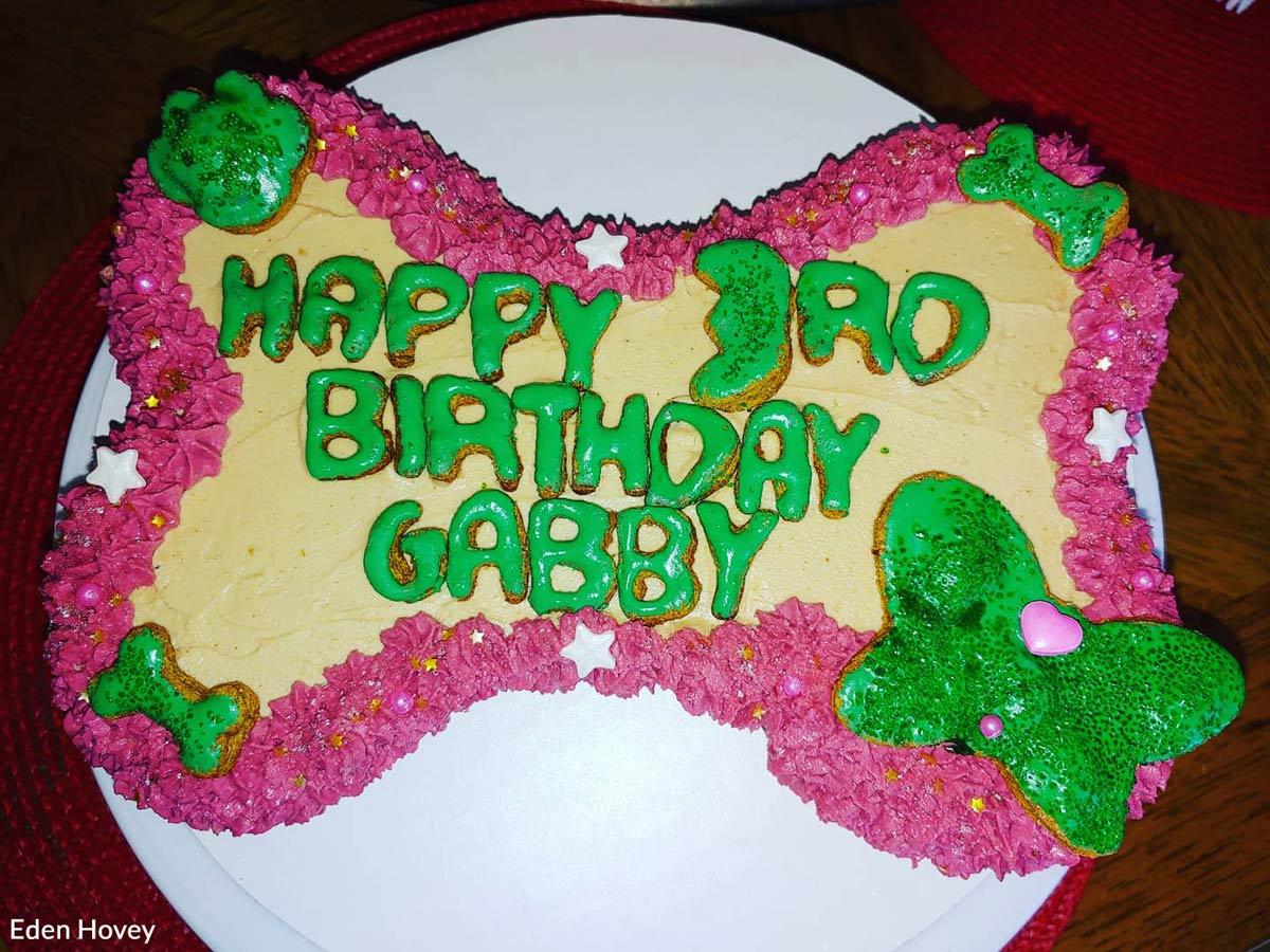 Happy birthday, Gabby!