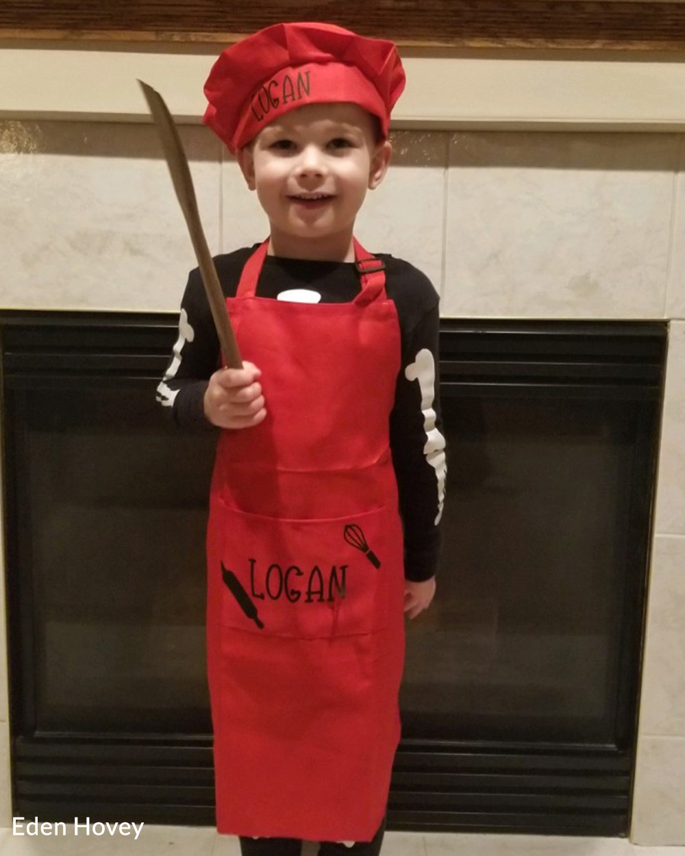This little baker is making a big impact!