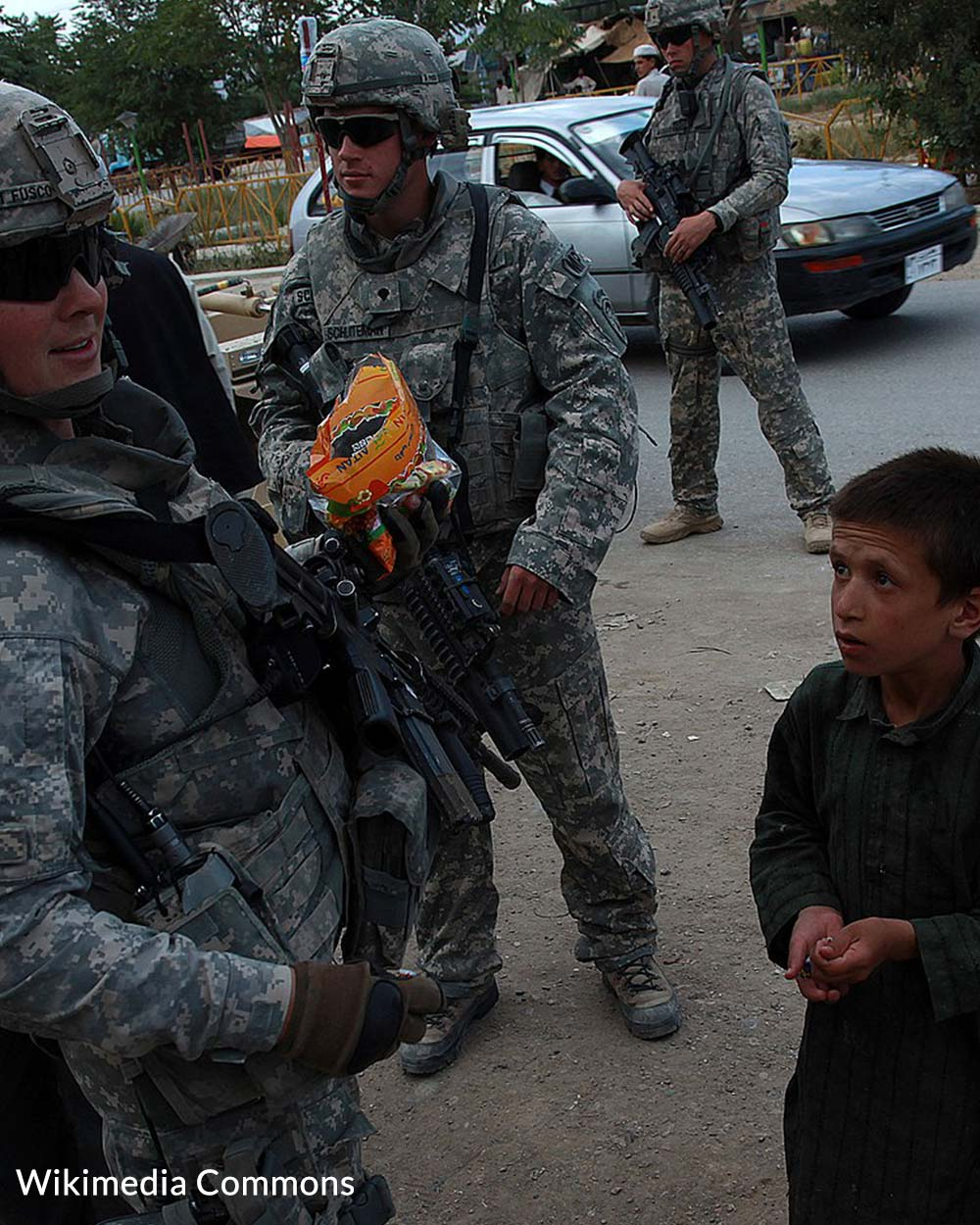 Support for troops of the war in Afghanistan has not been as restrained as it was after the Vietnam War.