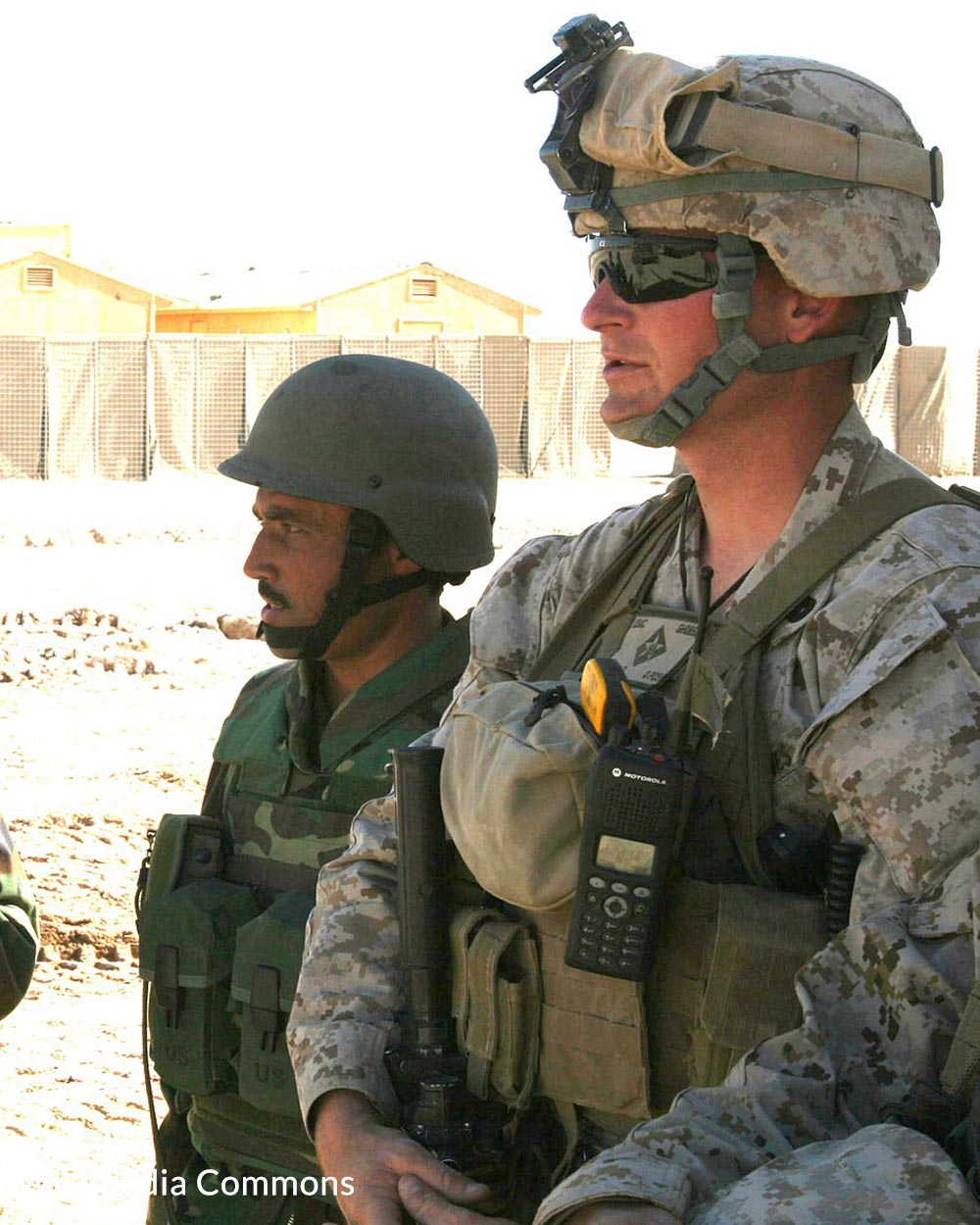 Veterans of war share a common bond that civilians may not understand.