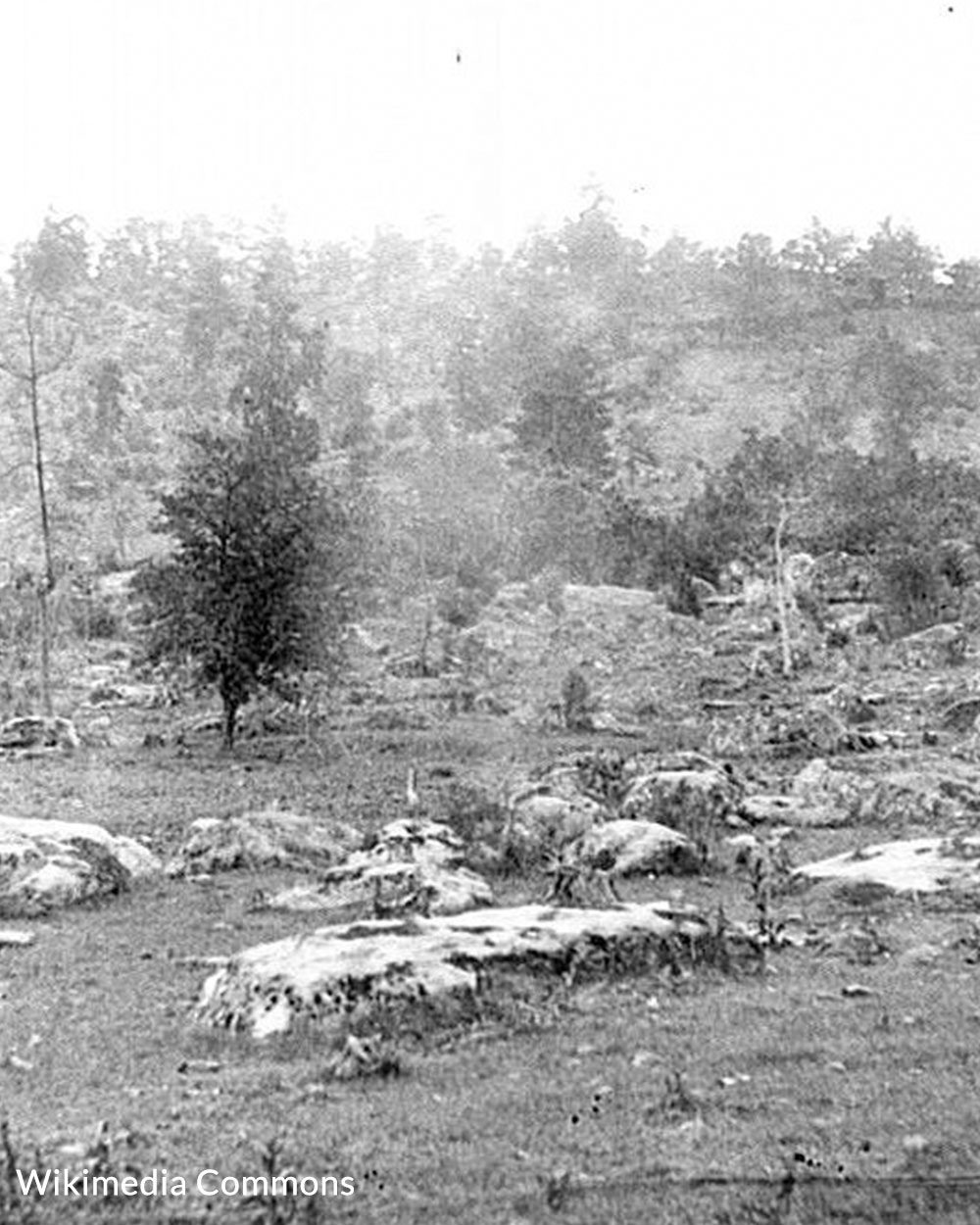 Little Round Top was a critical point in the Battle of Gettysburg.