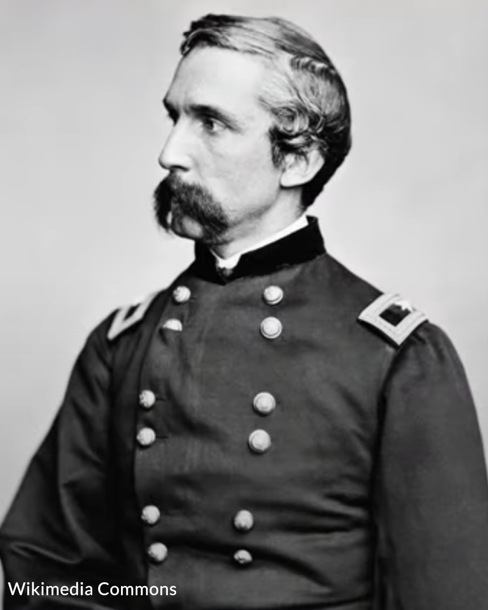 Joshua Lawrence Chamberlain was a professor at Bowdoin College in Maine when the war broke out.