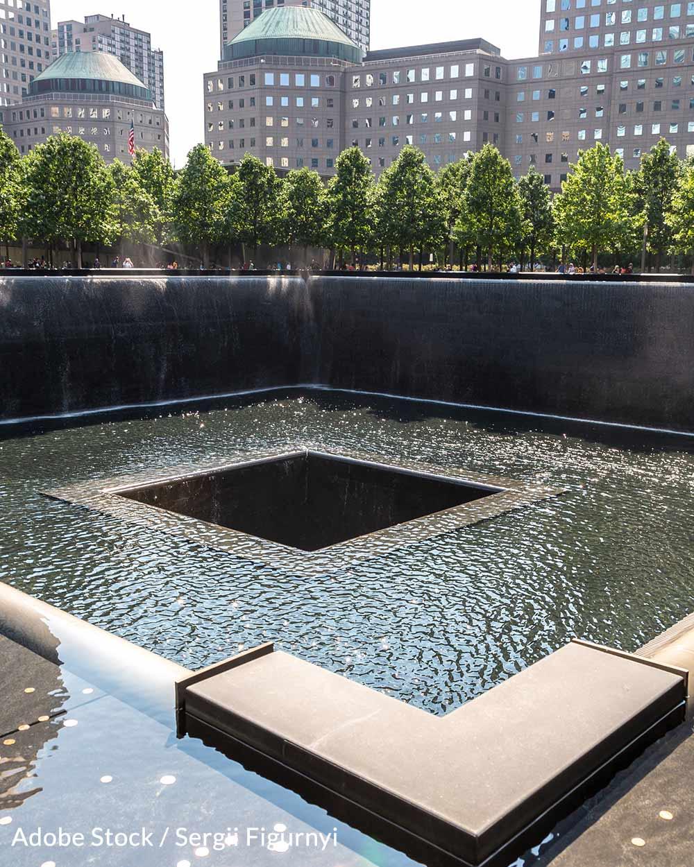 The 9/11 Memorial & Museum at Ground Zero.
