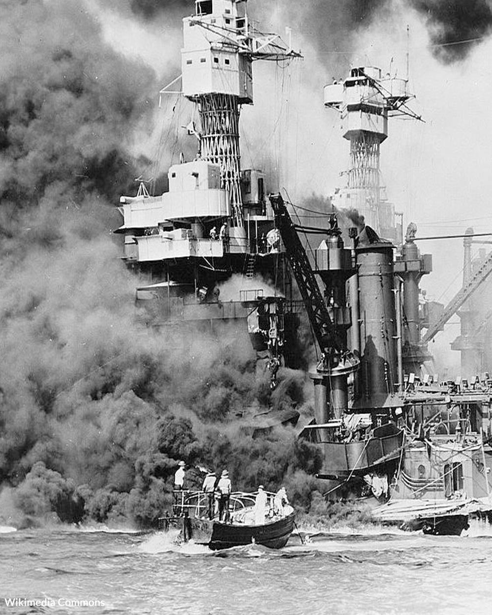Pearl Harbor was attacked by the Japanese on Sunday, Dec. 7, 1941.