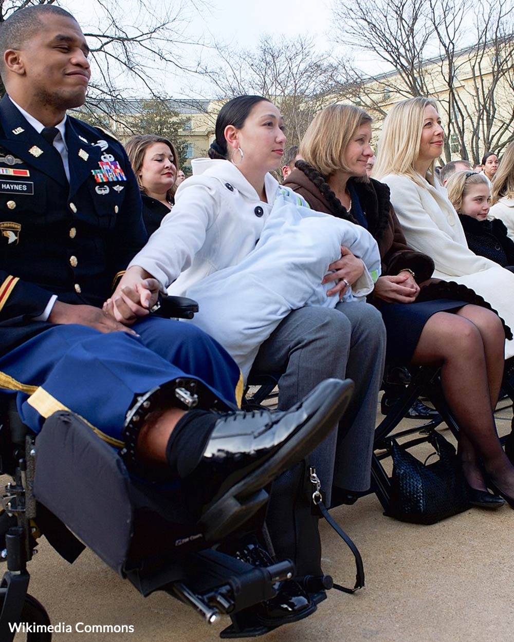 Army Captain Jeremy Haynes, who nearly died in Afghanistan; his wife, Chelsea.