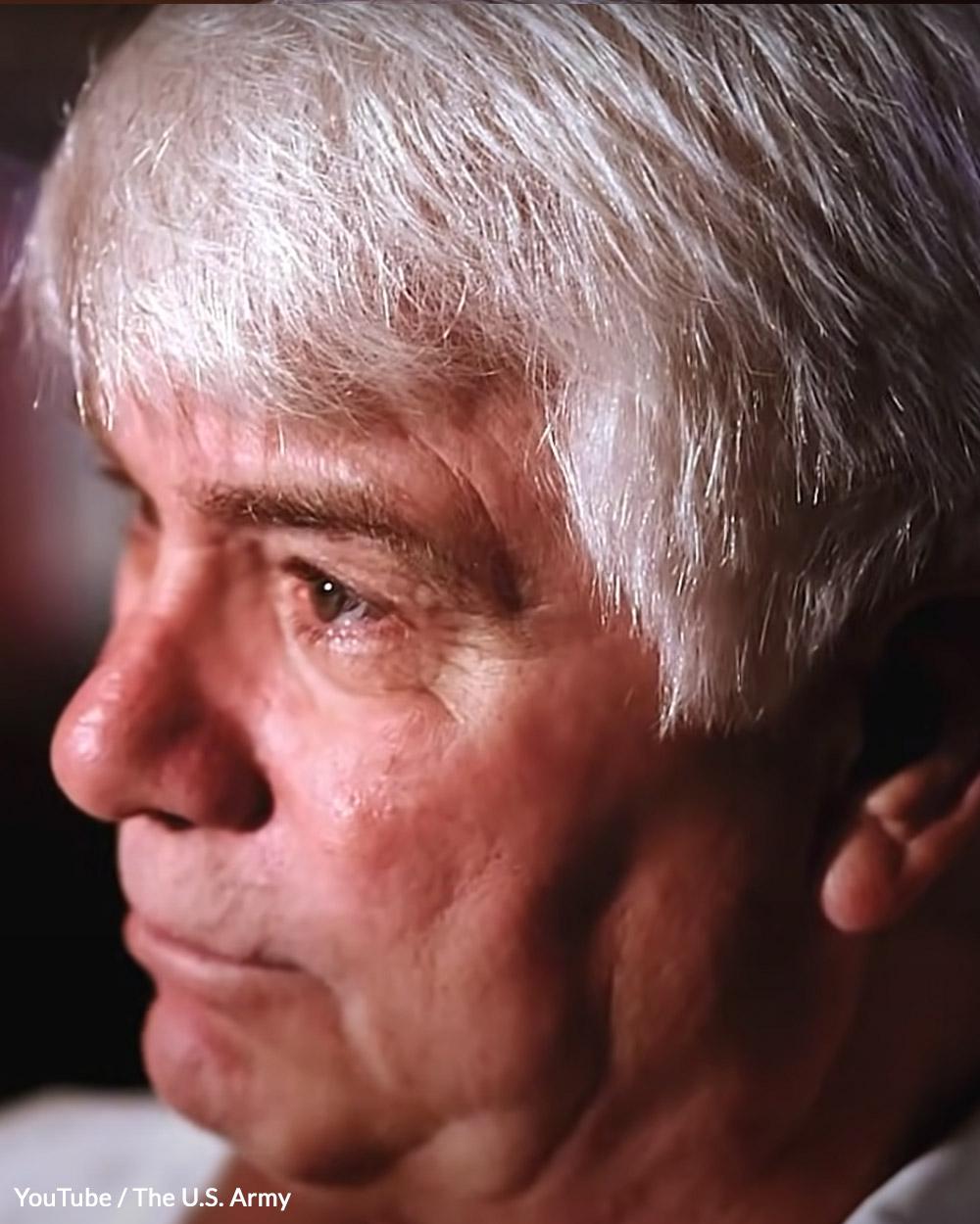 Medal of Honor recipient James McCloughan.