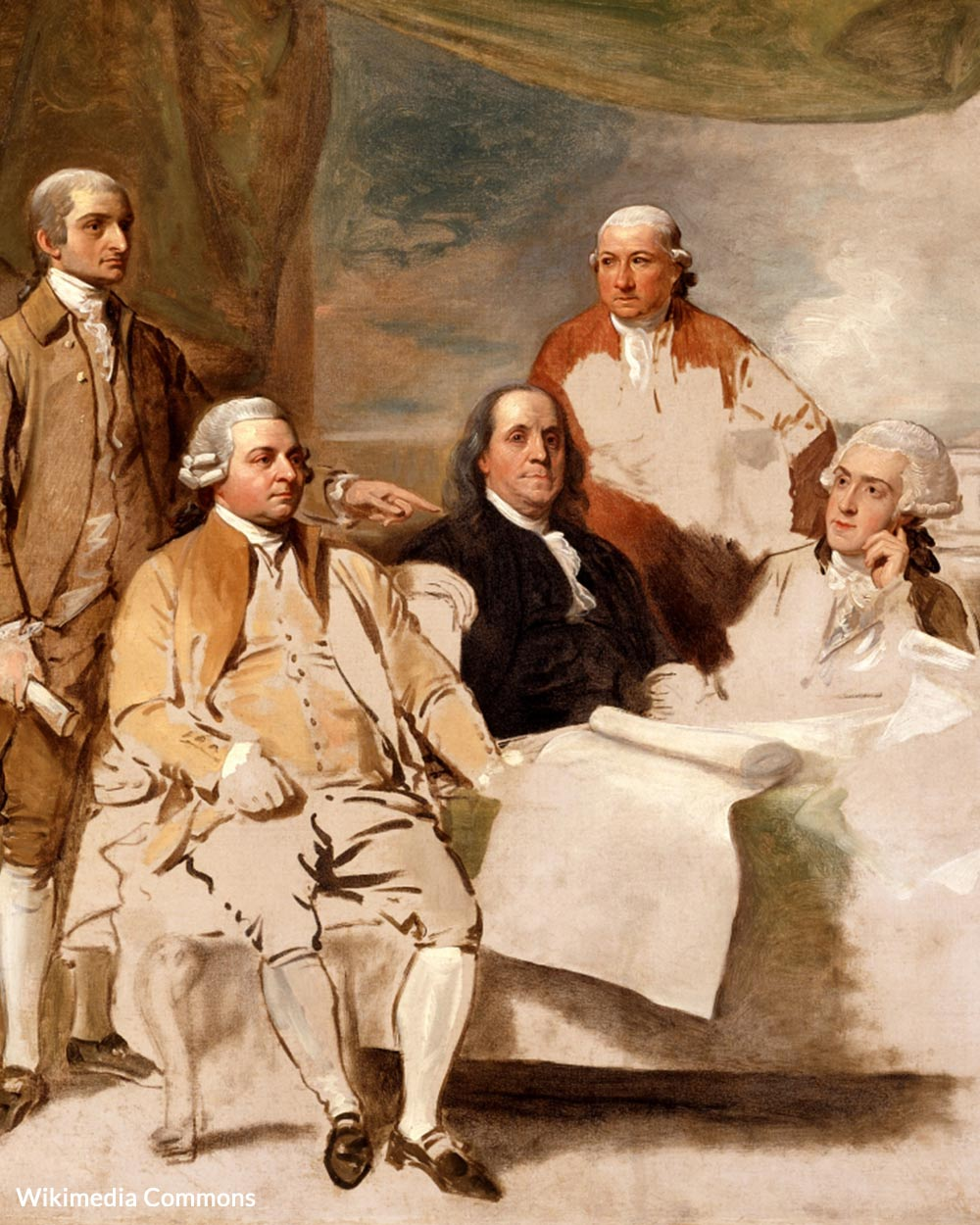 American Commissioners of the Preliminary Peace Agreement with Great Britain.