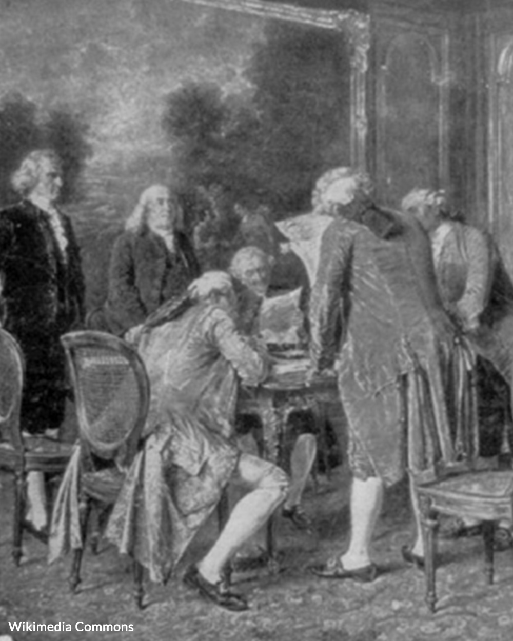 The Paris Treaty was signed in 1783.
