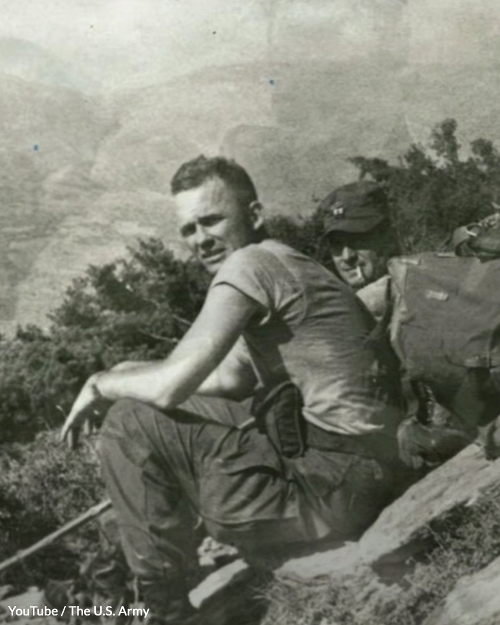 Puckett, Jr. earned many medals for his actions in war.