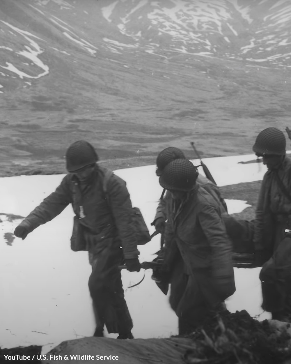 Marines faced a costly battle on the island.