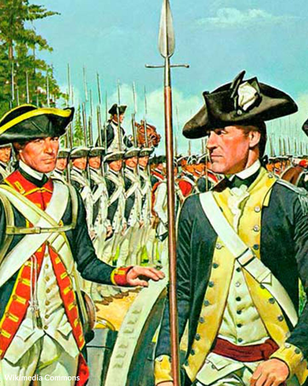 Members of the Miller family fought in the Revolutionary War.
