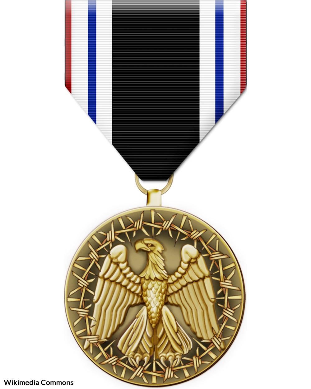 Prisoner of War medal.