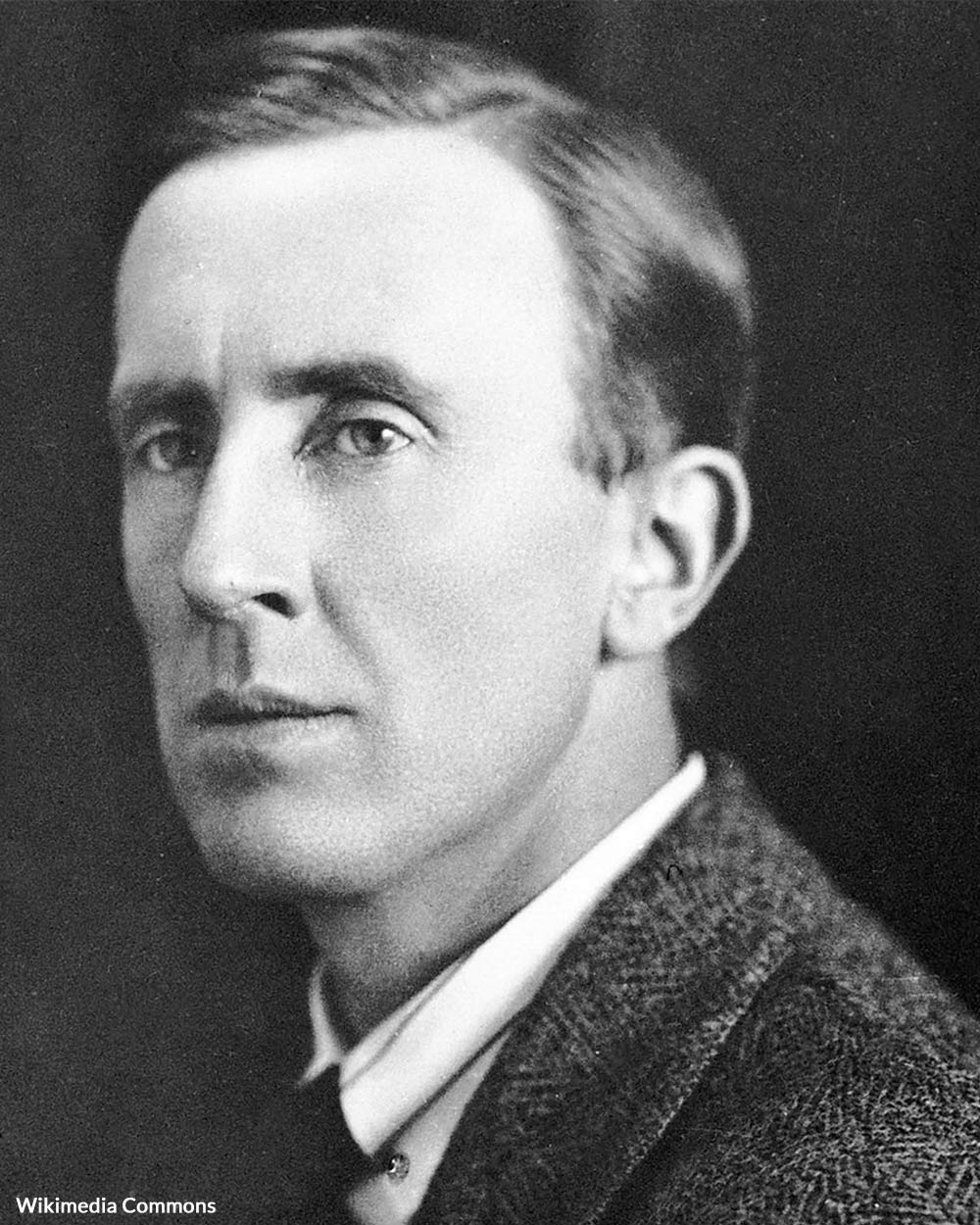 J.R.R. Tolkien in the 1940s.