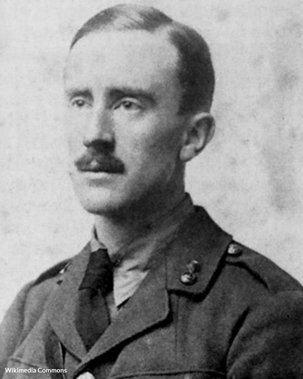 J.R.R. Tolkien served as a Signal Officer in WWI.