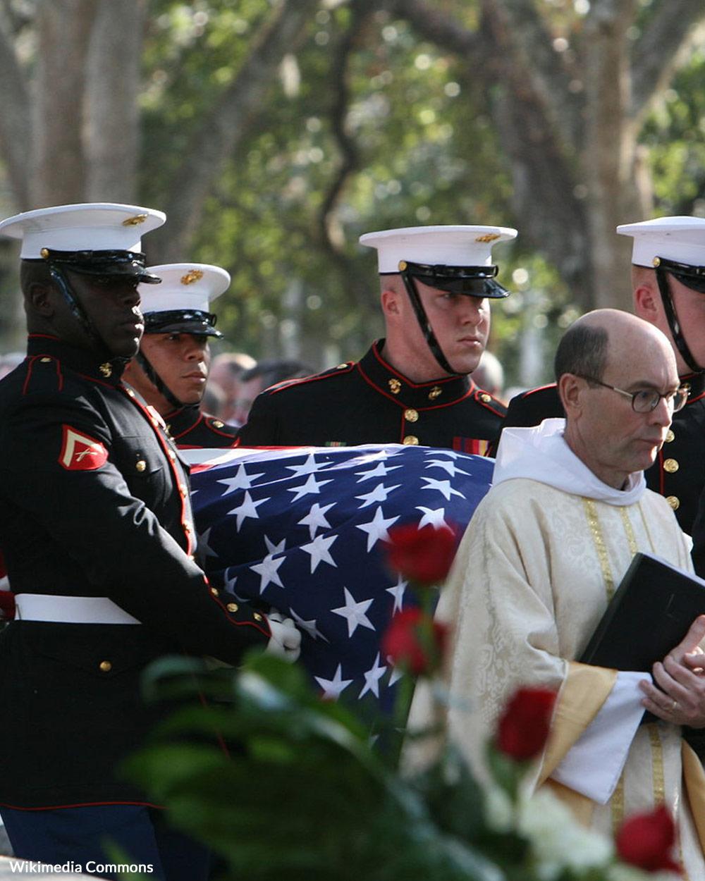 U.S. Marine Body Bearers have a very special job.